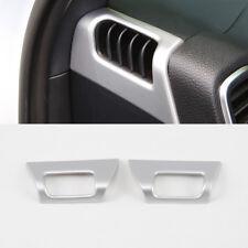 2* ABS Matte Interior Upper Air Vent Outlet Cover Trim For Porsche Cayenne 2019