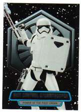 2016 Topps Star Wars Force Awakens Ser 2 Power of the First Order 9 Stormtrooper