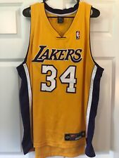 Shaquille O'Neal Los Angeles Lakers Nike Dri-Fit Authentic Jersey
