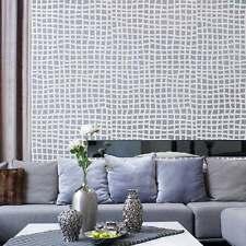 Mesh Allover Stencil - Modern Wall Pattern - DIY Decor - Wallpaper Alternative