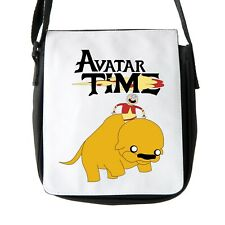 Adventure Time And Avatar The Last Airbender Shoulder Bag Reporter Bag