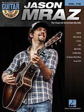 Jason Mraz Sheet Music Guitar Play-Along Book and CD NEW 000124165