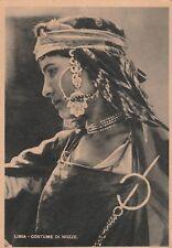LIBYA - Costume di nozze - Centro Radio Trasmittente 1941