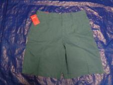 NEW Izod Men's SOHO DUSTY DELEFTFlat Front Blue 100% Cotton Size: 34