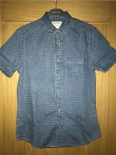 Para hombres camisa de manga corta de Burton Denim Talla S