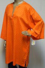 Josie Natori Womens Blouse Deep V Neck Shirt Top Matte Jersey Tan Beige Natural