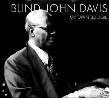 BLIND JOHN DAVIS - My own boogie  (CD SIGILLATO)