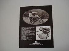 advertising Pubblicità 1971 MOTO MULLER 50 e PICCONI