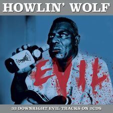 2 CD BOX HOWLIN' WOLF EVIL SMOKESTACK LIGHTNIN' BABY HOW LONG POOR BOY UH RED