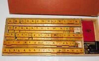 Vintage Box of Rubber Stamps *MUST SEE* StamperKraft Sign Marker 920