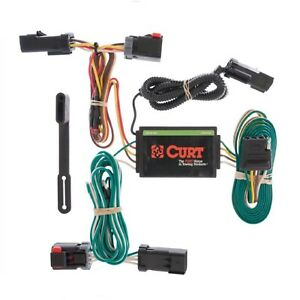 Curt 55530 Custom Wiring Harness for Chrysler Pacifica