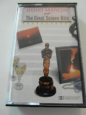 Henry Mancini-Plays The Great Screen Hits - Album Cassette Tape, Used very good