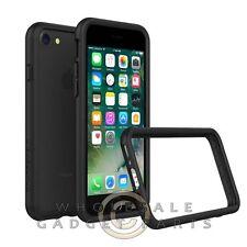 Apple iPhone 7 Rhino Shield Crash Guard Bumper - Black Cover Shell Protector