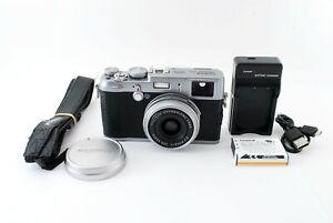 Fujifilm FinePix X Series X100 12.3MP Digital Camera Silver Japan [Exc+++] #956A