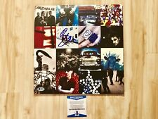 BONO Signed U2 Achtung Baby Vinyl Album Beckett BAS Cert