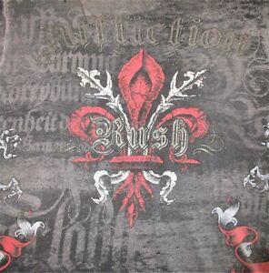 Affliction Signature Series Georges St-Pierre Rush Distressed T Shirt Mens Large