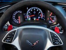 C7 Corvette Stingray/Z06/GS 2014+ Grand Sport Style Red Auto Shifters