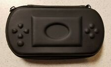 Generic Hard Shell Eva Protective Case UMD Black Game For PSP Very Good 5E