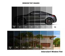 """WINDOW TINT FILM ROLL CHARCOAL BK 5% 20% 35% 50% 36"""" x 100FT Intersolar® SR"""