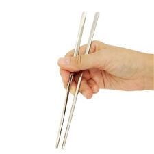 Metallo acciaio inossidabile Chopsticks -1 Coppia-Chop BASTONCINI-SUSHI-CUCINA UTENSIL