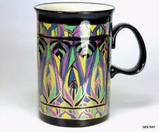 Dunoon Ceramics White Stoneware Scotland Kelim Mug Cup Samantha Redgrave