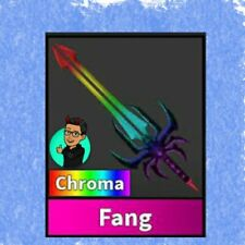 Murder Mystery 2 MM2 CHROMA FANG GODLY Knife !! Roblox FAST DELIVERY godly
