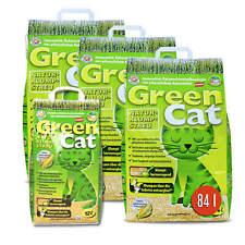 GreenCat 84 L Katzenstreu Natur-Katzenklumpstreu biologisches klumpend Maisstreu