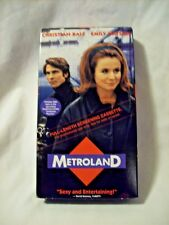 Metroland (VHS, 1999) CHRISTIAN BALE EMILY WATSON NEW SEALED PROMO SCREENER