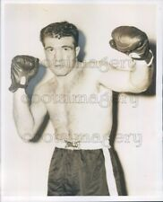 Press Photo Boxer Fernando Spallotta