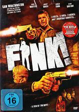 DVD nagelneu, OVP, Fink! - Makabre Thriller-Komödie mit Sam Worthington / TOP