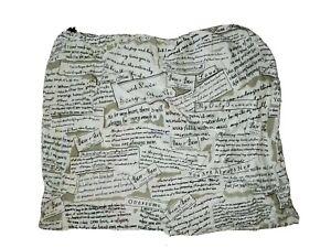 "Barr Barr Drawstring Pouch Tote Bag 18"" x 18"""