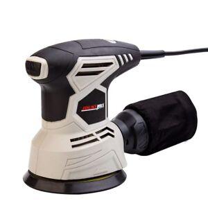 240W 12000RPM Orbit Sander Sanding Machine Dust Exhaust Electric Grinder Sand