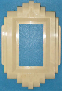 ART DECO SWITCH PLATE PROTECTOR 1931