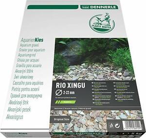 Dennerle Naturkies Plantahunter Rio Xingu Aquarienkies Flusskies natur 5 kg
