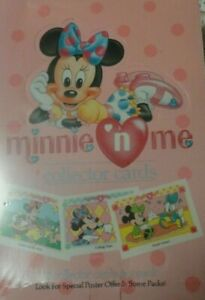 Impel Minnie-n-Me Collector Cards 1991  12 Cards per pack  Factory Sealed