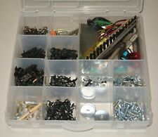 LOT New & Used Model Train HO Parts - Trucks, Couplers, Tools,Track, Screw/Nuts