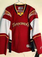 Reebok Women's Premier NHL Jersey Atlanta Thrashers Team Red sz XL