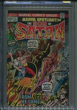 Marvel Spotlight #12 CGC 9.0 Origin of Son of Satan   FREE SHIPPING