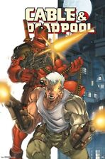 DEADPOOL & CABLE - COMIC POSTER - 22x34 - MARVEL 16625