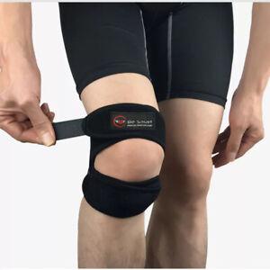 Knee Support Brace Open Patella Running Strap Injury Pain Relief Adjustable