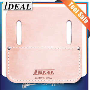 Ideal Concreter's Heavy-Duty Leather Tie Wire Reel Pad ID305