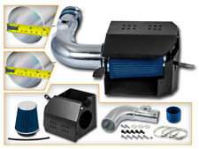 BCP BLUE For 13-19 Scion FR-S BR-Z 86 2.0 H4 COLD SHIELD AIR INTAKE KIT +FILTER