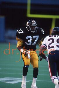 1989 Carnell Lake PITTSBURGH STEELERS - 35mm Football Slide