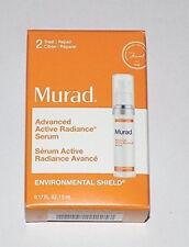 MURAD Advance Active Radiance SERUM Environmental Shield Travel Size NEW in BOX