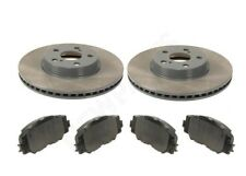 FITS Toyota Corolla 09-18 Matrix 09-14 Set of Front Brake Pads And Disc Genuine