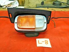 Triumph TR6, Lucas Lt Front Parking Light & Turn Signal Assembly, Orange & White