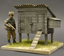 DioDump DD060 Small chicken coop 1:35 scale diorama accessory