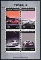 Madagascar 2019 MNH Porsche 4v M/S Cars Stamps
