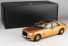 1:18 Kyosho Rolls-Royce Ghost Die Cast Model Gold 1200 PCS LIMITED