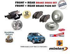 für Ford Kuga 2.0 DT TDCi 2.5 2008-2012 Front + Bremsscheiben SET HINTEN + Belag